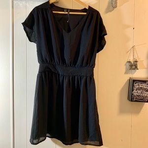 MNG Collection black mini dress